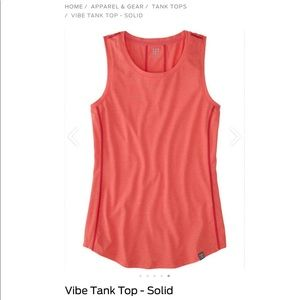 Title Nine Vibe Tank Top in Coral Reef Sz M